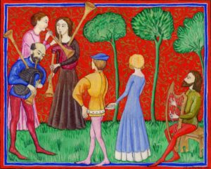 Illumination of musicians and dancers